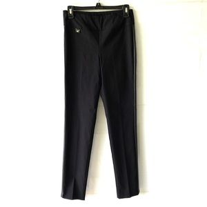 Lisette Black Pull On Stretch Pants Size 4